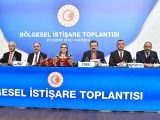 Kayseri Bölgesel İstişare Toplantısı, TOBB Başkanı M. Rifat Hisarcıklıoğlu ve Ticaret Bakanı Ruhsar Pekcan'ın katılımıyla, Kayseri Ticaret Odası, Kayseri Sanayi Odası ve Kayseri Ticaret Borsası'nın ev sahipliğinde gerçekleştirildi.